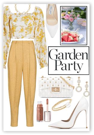 Garden Party in Yellow 💛