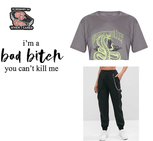 I'm a bad bitch you can't kill me