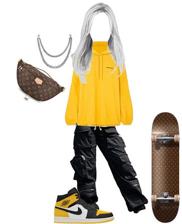 LV skateboard