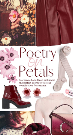 poetry on petals
