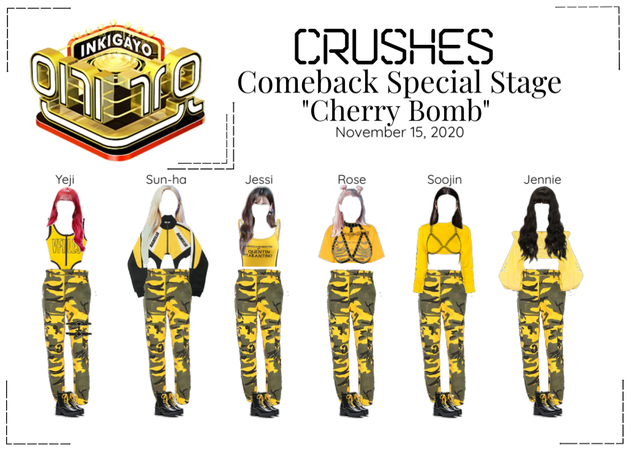 """Crushes (호감) """"Cherry Bomb"""" Comeback Special Stage"""