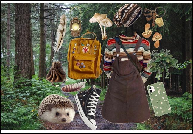 Hedgehog foresty vibe