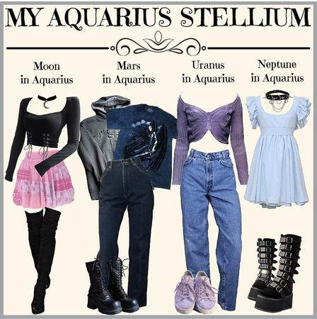 MY AQUARIUS STELLIUM