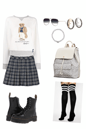 Preppy and Grunge