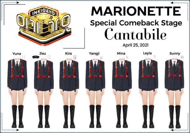 마리오네트 (MARIONETTE) - [INKIGAYO] Special Comeback Stage