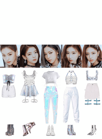 ITZY ivy stage outfits