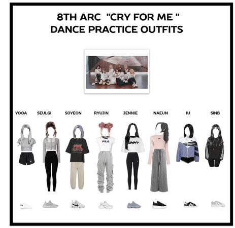 "8th Arc ""cry for me"" dance practice"