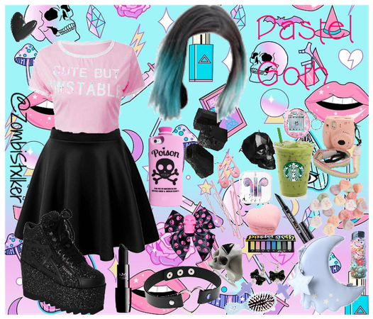 Tumblr Blog: Aesthetic (5) : Pastel Goth