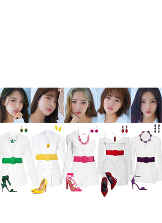 RED SQUARE | Colorful stage outfits