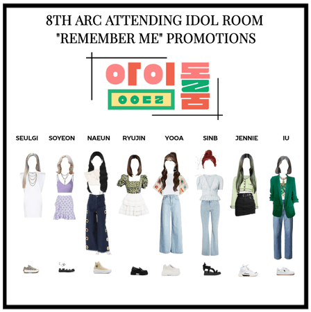 8th arc remember me promotion on idol room