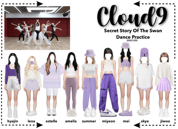 Cloud9 (구름아홉) | SSOTS Dance Practice | 20201230