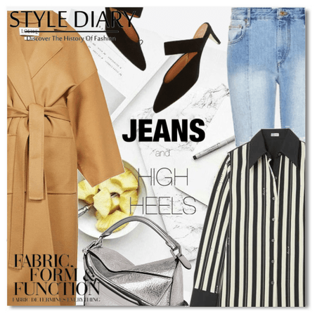 Style Diary: Jeans and High heels