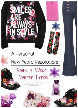 NY Resolution: Smile & Wear Winter Florals