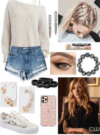 Mia Smoak Inspired FATWS Outfit