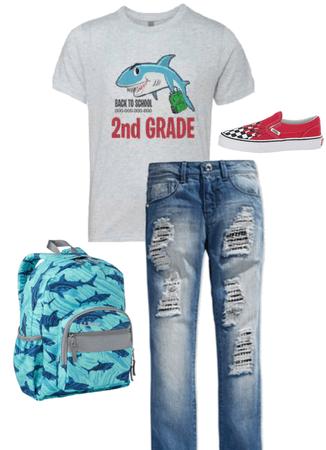back to school shark