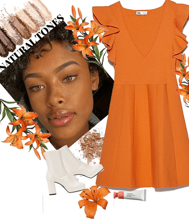 NATURE INSPIRED DAYLILY🌺-🧡🧡