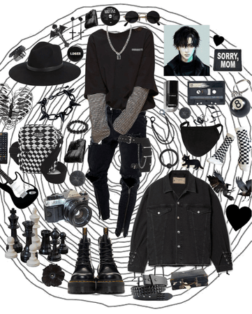 e-boy - he looks so good in black