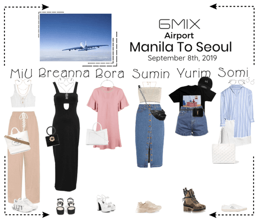 《6mix》Airport | Manila To Seoul