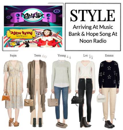 STYLE Arriving At Music Bank & MBC FM4U Radio