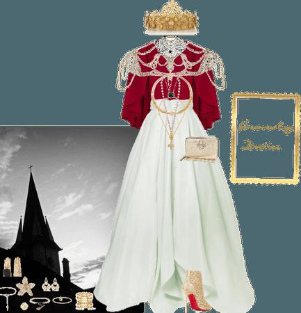 Heavenly Bodies: Met Gala Inspired Look