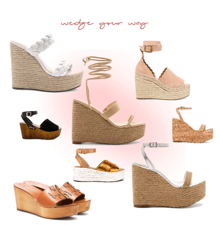 wedge your way