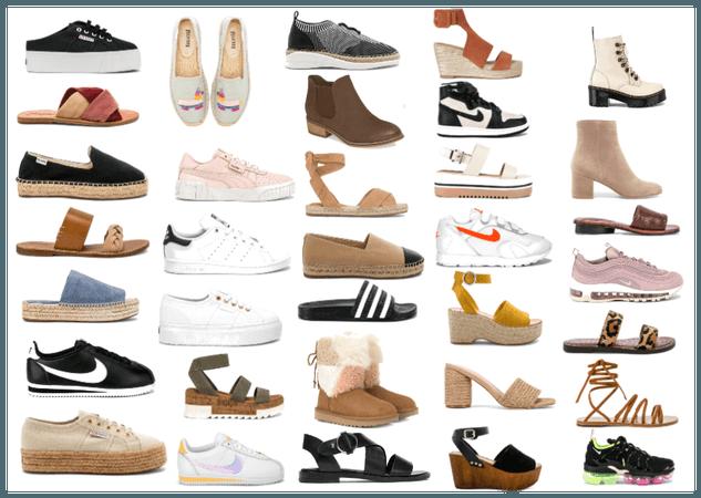 Calçados Esportivos ou Naturais