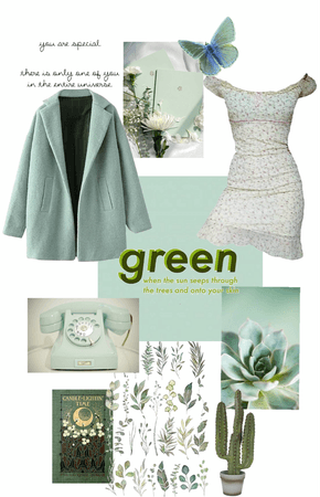 green, i guess