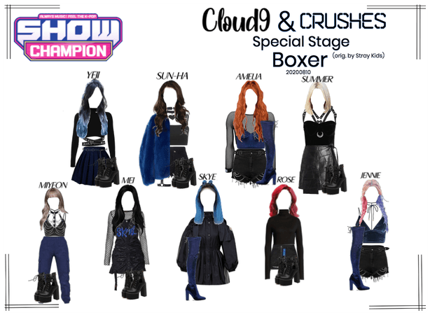 Cloud9 (구름아홉) & CRUSHES | Boxer Special Stage