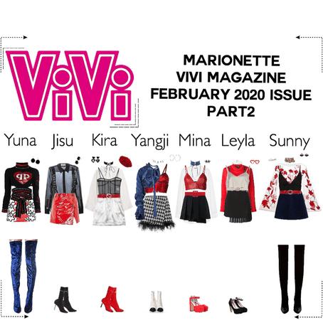 MARIONETTE (마리오네트) [Pt.2] ViVi Magazine Photoshoot