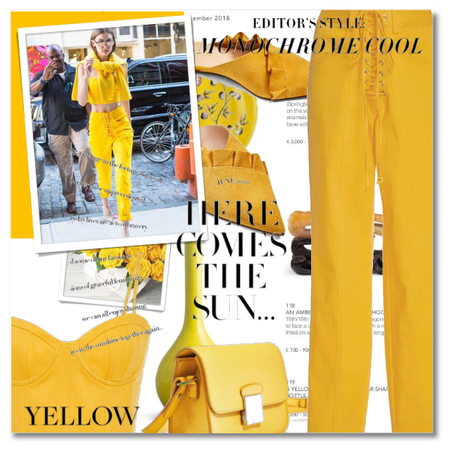 Summer Monochrome - Yellow