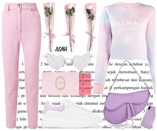 Casual Pastel Outfit