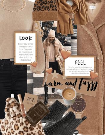 fuzzy textures: tan aesthetic