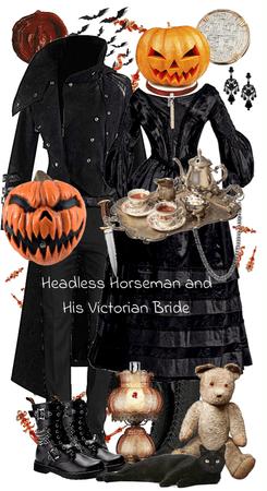 Headless Horseman and His Victorian Bride