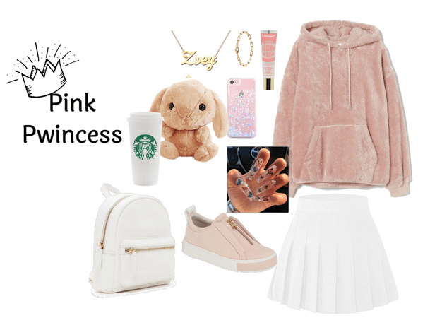 Agere Pink Pwincess Outfit