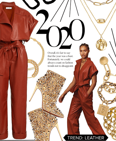 leather trend : 2020