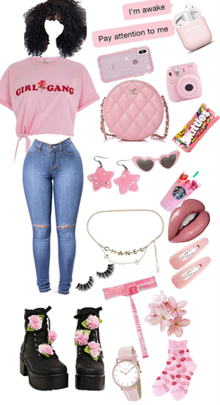 never to much pink