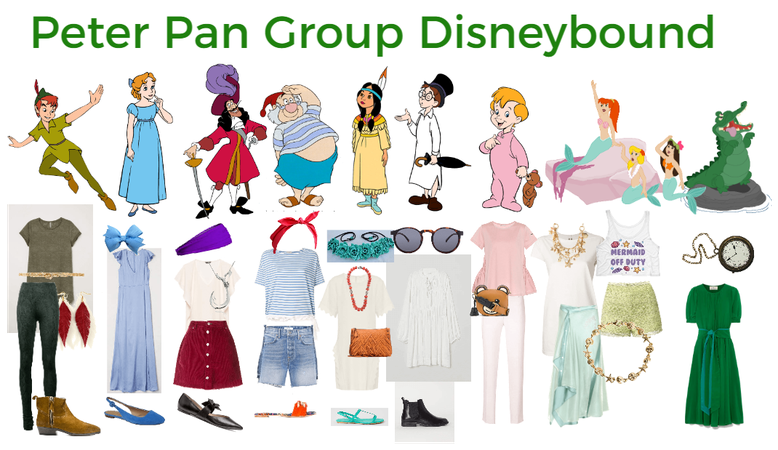 Peter Pan Group Disneybound
