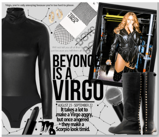 Beyonce Is A Virgo edgy look
