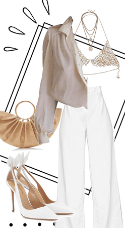 Bra Top Outfit