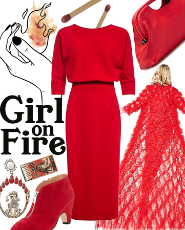 girl on fire | @sadcherrysoda contest