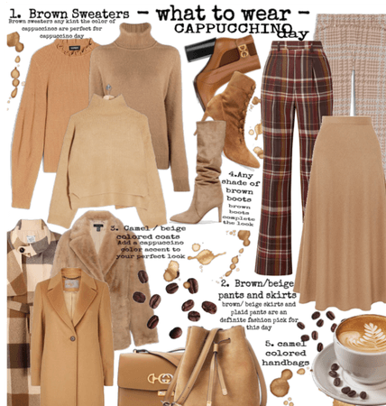 What To Wear on cappucino day