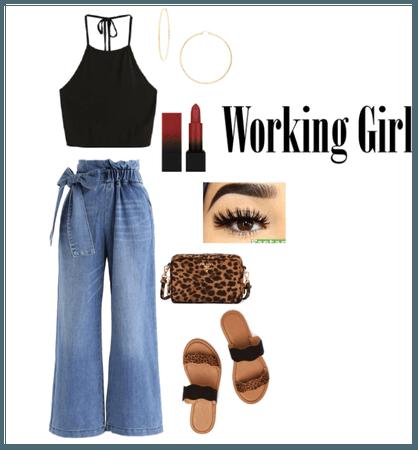 #workinggirl