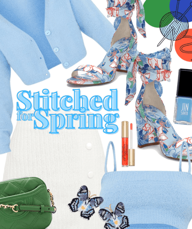 Stitched for Spring