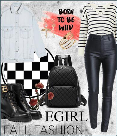 Egirl fall fashion 🎧