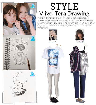 STYLE Vlive: Tera Drawing