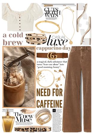 corduroy and coffee