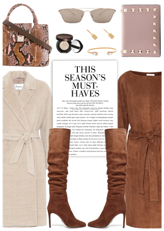 Get The Look: Suede Dress