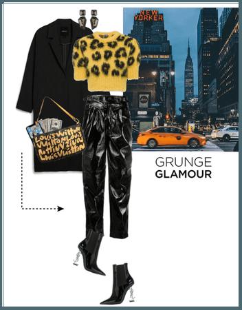 Grunge glamour