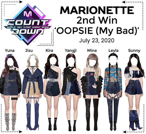 MARIONETTE (마리오네트) [M COUNTDOWN] 'OOPSIE (My Bad) | 2nd Win