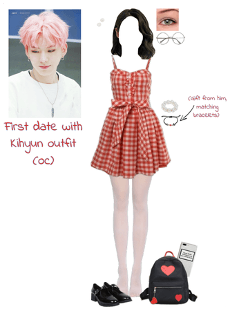 First date with Kihyun outfit (oc)